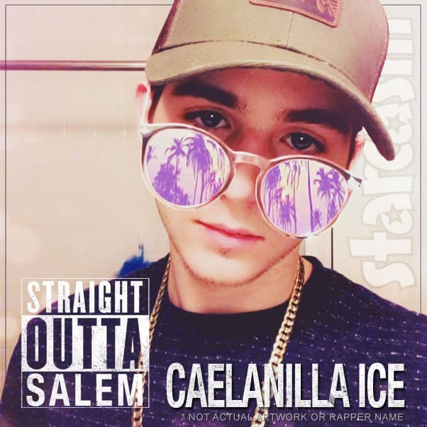 TLC Unexpected Caelan Morrison rap song Straight Outta Salem by Caelanilla Ice