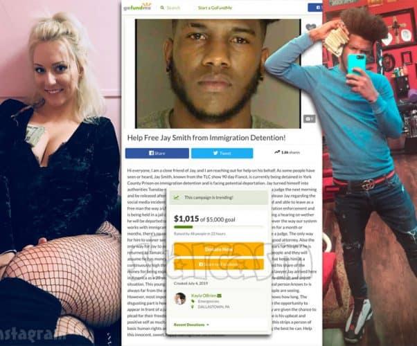 90 Day Fiance Jay Smith GoFundMe started by strip club worker Kayla