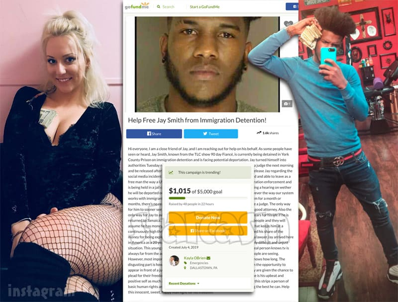 90 Day Fiance Jay Smith GoFundMe started by strip club worker Kayla