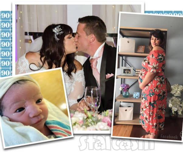 90 Day Fiance The Other Way Tiffany gives birth to her and Ronald's baby daughter Carley Rose Smith