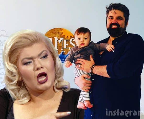 Teen Mom Amber Portwood arrested after allegedly hitting Andrew Glennon with a shoe while he was holding their son son James
