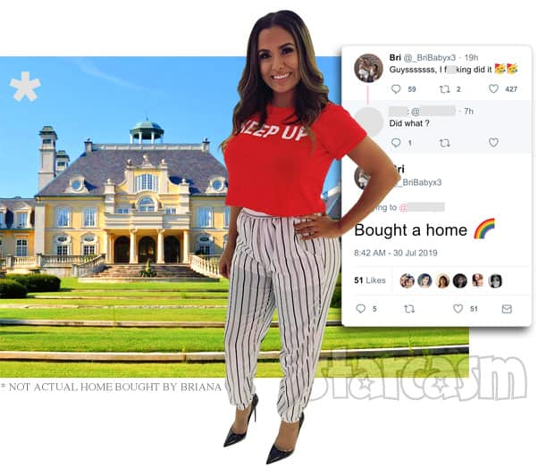 Teen Mom 2 Briana DeJesus buys a house