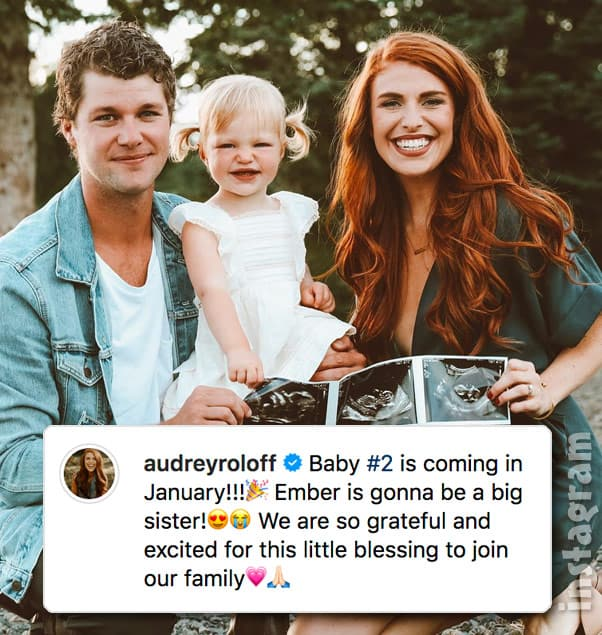 Little People Big World Jeremy and Audrey Roloff second pregnancy