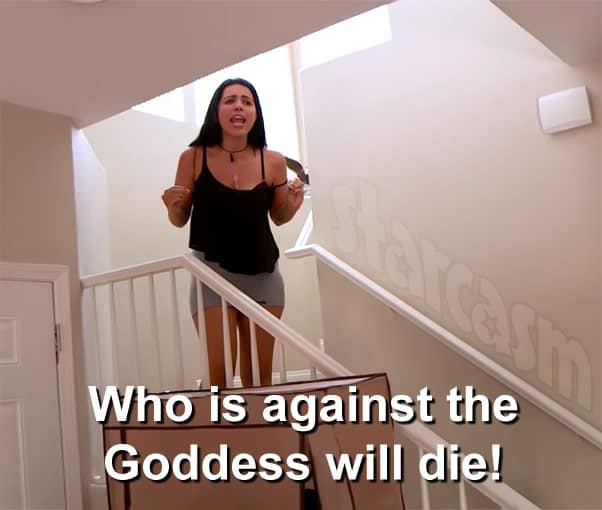 90 Day Fiance Larissa Who Is Against The Goddess Will Die Love After Lockup Tracie quote