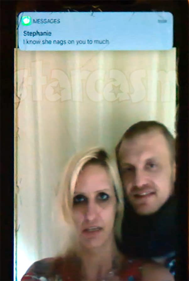 Life After Lockup Clint and Tracie receive text from Stephanie