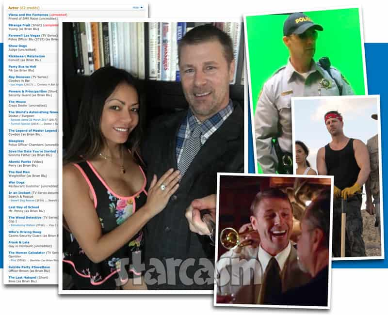 Lifetime Marrying Millions Gentille's boyfriend Brian is an actor named Brian Blu