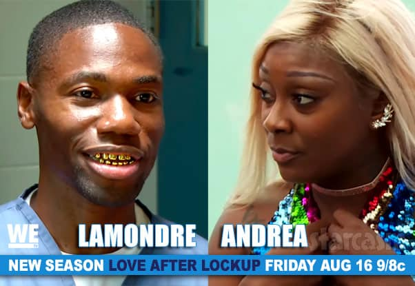 Love After Lockup Season 3 Andrea and Lamondre