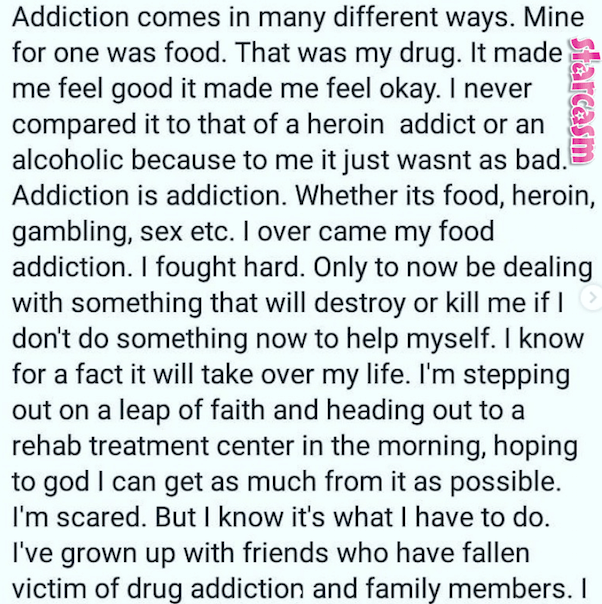 Sarah Neeley rehab 4