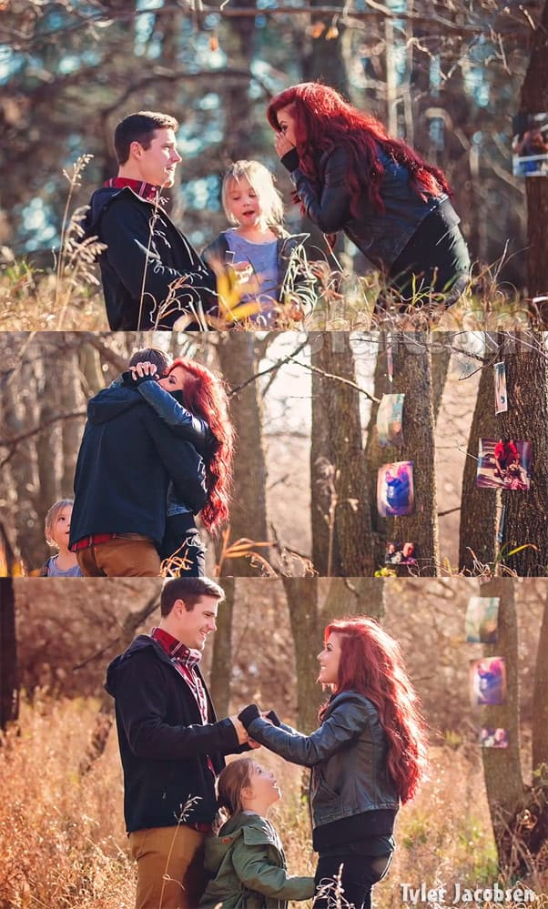 Teen Mom 2 Cole DeBoer and Chelsea Houska proposal photos