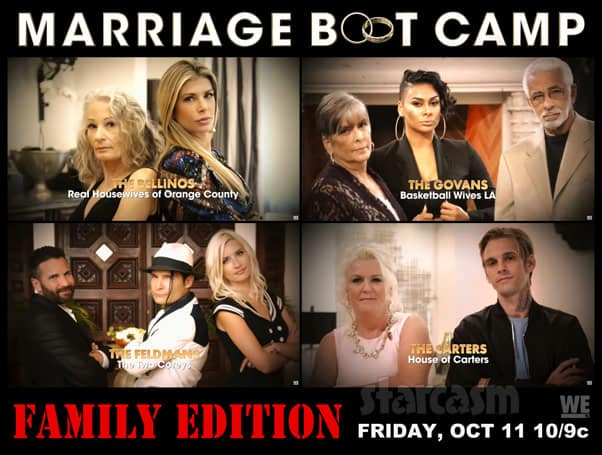 Marriage Boot Camp Family Edition Alexis Bellino Laura Govan Corey Feldman Aaron Carter