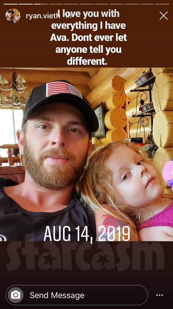 Tamra Judge's son Ryan Vieth and daughter Ava 2019