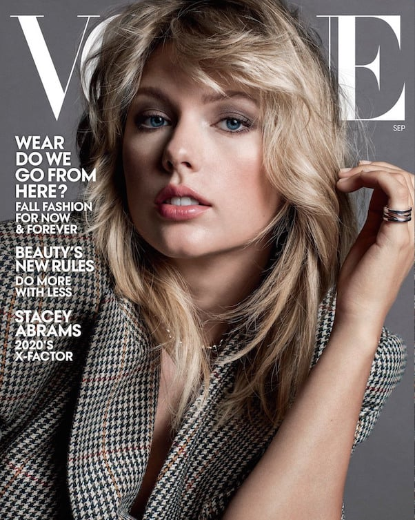 Taylor Swift's Vogue cover 1
