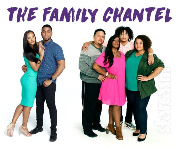 TLC 90 Day Fiance The Family Chantel cast photo