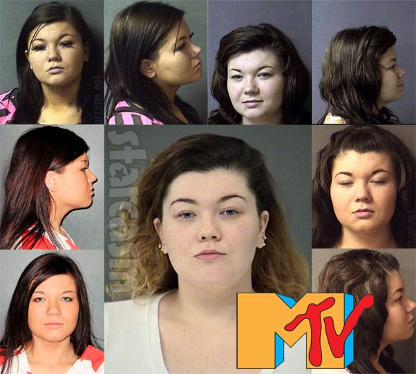 Amber Portwood arrests mug shot photos over the years MTV