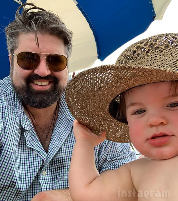 Teen Mom Amber Portwood ex Andrew Glennon with son James