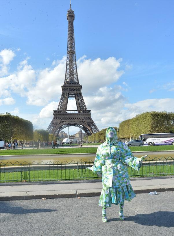 Cardi B at Paris Fashion Week