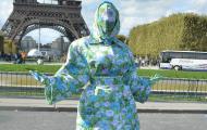 Cardi B at Paris Fashion Week 2