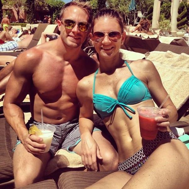 Danielle Busby bikini 2013 2