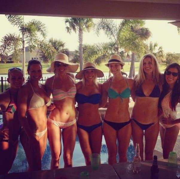 Danielle Busby bikini 2013