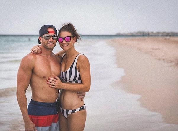 Danielle Busby bikini 2018