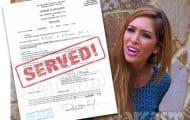 Teen Mom Farrah Abraham served lawsuit