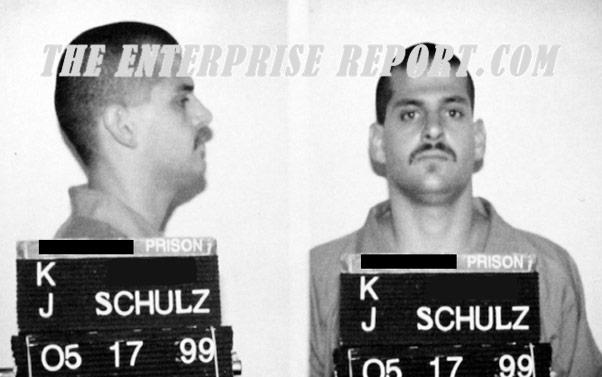 Storage Wars Jarrod Schulz arrest mug shot photos