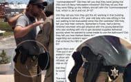 John David Duggar in the Bahamas with MEDIC Corps carrying a badge and gun