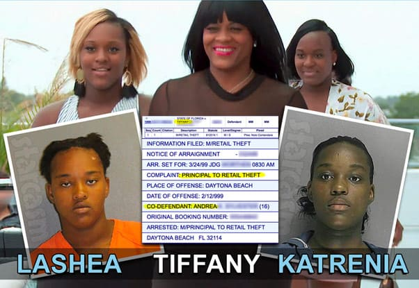 Love After Lockup Andrea's sisters Lashea Tiffany and Katrenia arrests