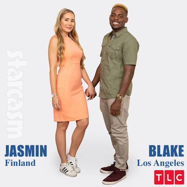 90 Day Fiance Season 7 cast Blake and Jasmin from Finland