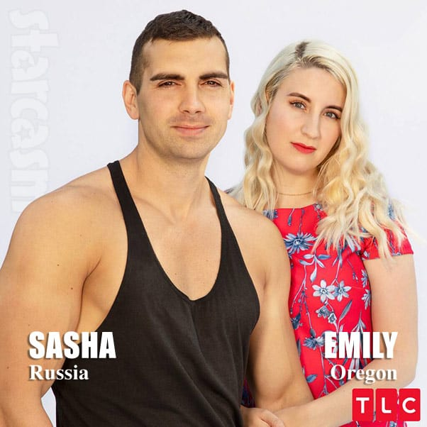 90 Day Fiance Season 7 cast Emily and Sasha from Russia