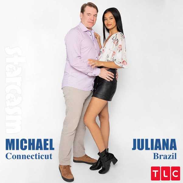 90 Day Fiance Season 7 cast Michael and Juliana model from Brazil