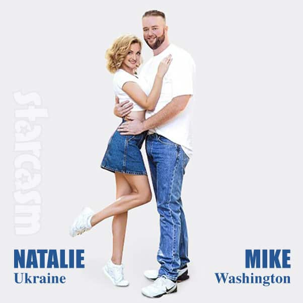 90 Day Fiance Season 7 cast Mike and Natalie from Ukraine