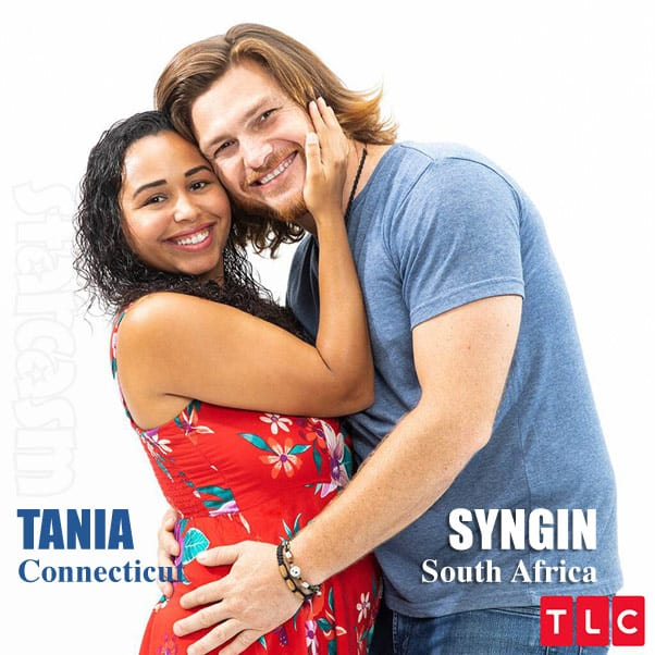 90 Day Fiance Season 7 Tania and Syngin from South Africa