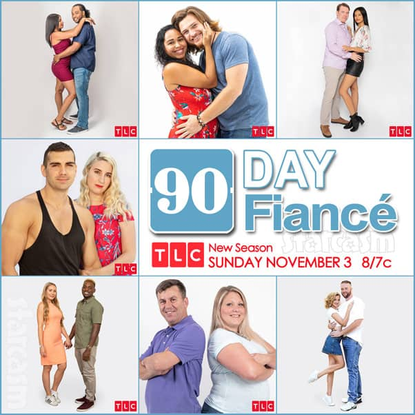 90 Day Fiance Season 7 cast photos