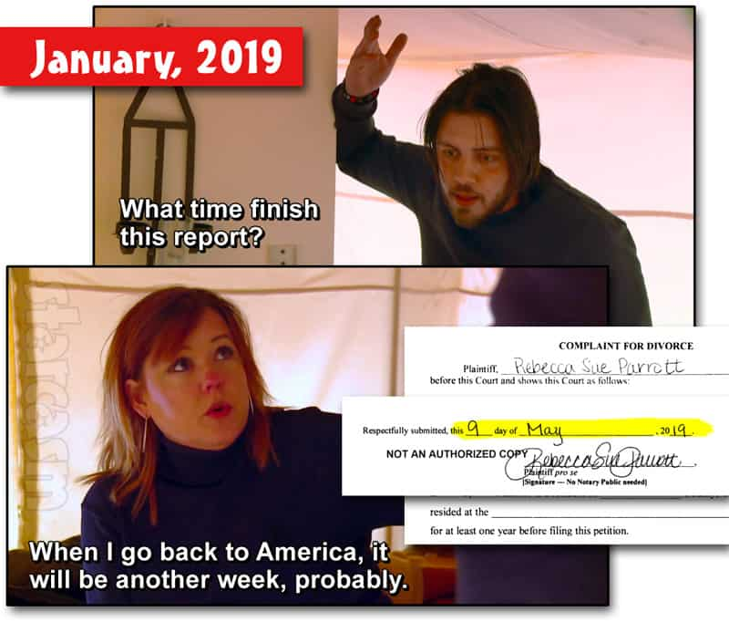 90 Day Fiance Before The 90 Days Rebecca divorce timeline. Did she lie to Zied?