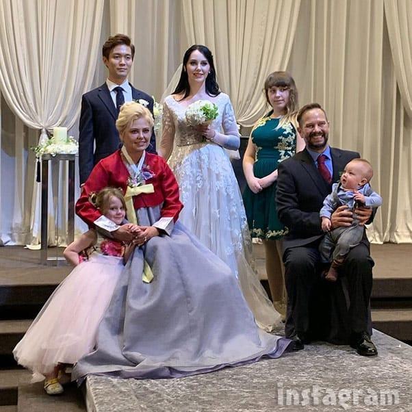 90 Day Fiance The Other Way Deavan and Jihoon wedding photo