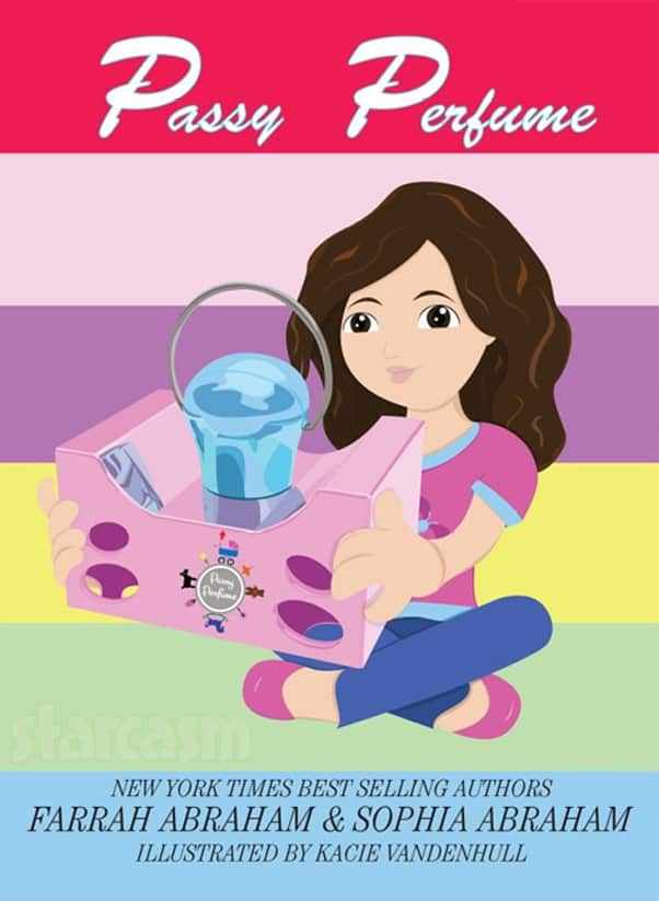 Teen Mom Farrah Abraham Passy Perfume childrens book cover
