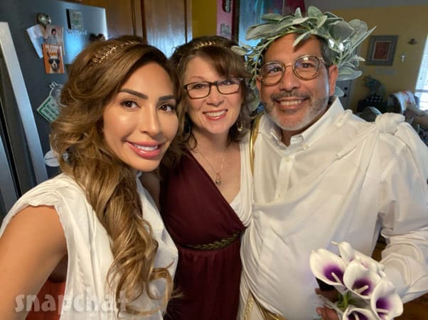 Teen Mom Farrah Abraham's dad Michael's wedding with Amy