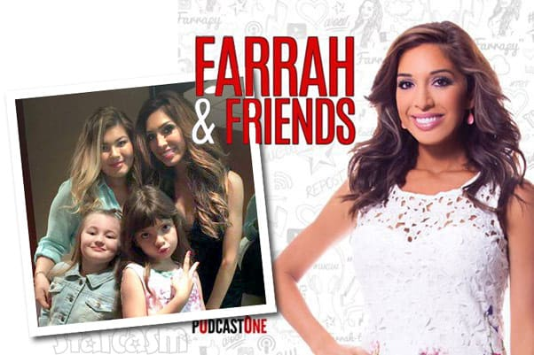 Teen Mom Farrah Abraham's Farrah and Friends podcast with Amber Portwood