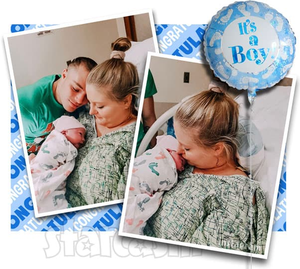 TLC Unexpected Laura and Tylor welcome new baby boy named Leo Brian Strawmyer