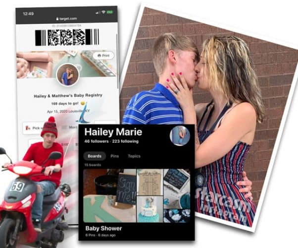 TLC Unexpected Did Matthew get Hailey 2 pregnant? See their alleged Target baby registry as well as the other evidence!
