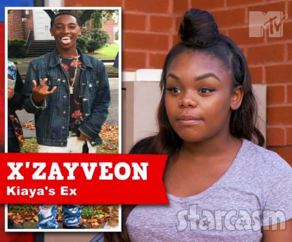 Teen Mom Young and Pregnant Kiaya Elliott's baby daddy X'Zayveon