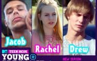 Teen Mom Young and Pregnant Rachel Beaver and her two potential baby daddies Drew and Jacob