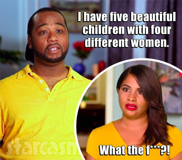 90 Day Fiance Robert has five children with four different women and Anny didn't know