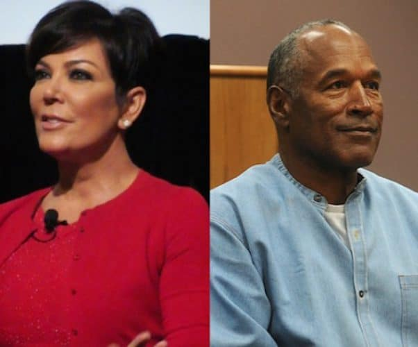 Kris Jenner and OJ