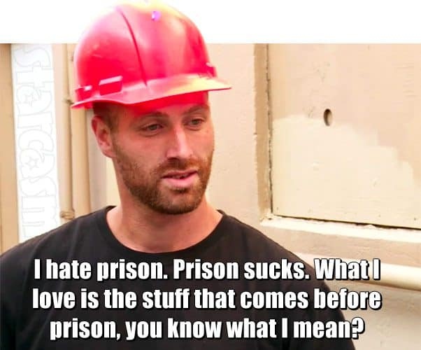 Love After Lockup Matt Frasier prison quote