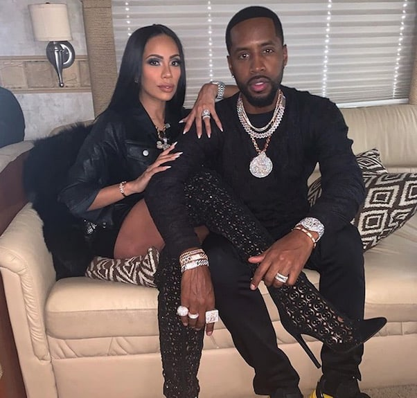 Safaree and Erica Mena 2
