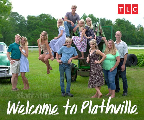 TLC Welcome To Plathville Plath family photo