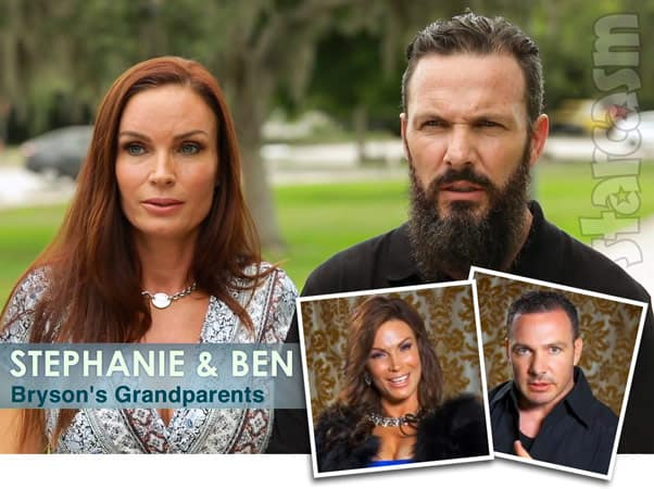 90 Day Fiance Robert's son Bryson's grandparents Stephanie and Ben on Brides of Beverly Hills, her as Diamond Foxxx