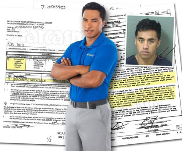 Below Deck Ross Inia pleads guilty in drunken cop assault case